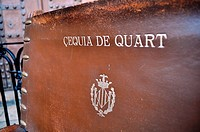 Valencia, Spain: chair of the &#199;equia de Quart, at the Tribunal de las Aguas ceremony in Plaza de la Virgen