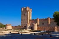 La Mota Castle 15th century, Medina del Campo, Valladolid province, Castilla-León, Spain