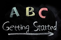 Getting started with ABC concept on a blackboard