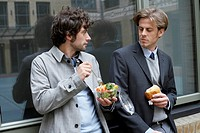 Businessmen Eating Lunch