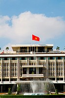 The Independence Palace (aka Reunification Palace) in Ho Chi Minh City, Vietnam