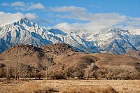 USA, California, Mt. Whitney, Lone Pine Peak, Alabama Hills