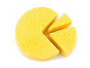 Slices of cheese lika a circle diagram