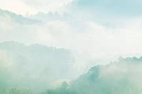 Fog Engulfing Countryside
