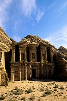 Jordan, Petra, Al Deir Monastery, Built 1st Century AD