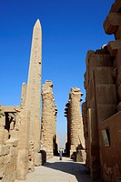 Obelisk at Karnak Temple Complex, Luxor, Egypt
