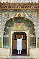 Chandra Mahal, Jaipur City Palace Complex, Jaipur, Rajasthan, India.