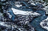 Glacier El Martial, Ushuaia, Fuegian Andes, Tierra del Fuego Archipelago, Straits of Magellan, Tierra del Fuego Province, Patagonia, Argentina.