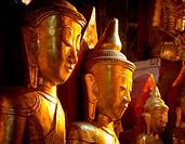 Gilded Buddhas