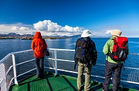Ferry between Stykkisholmur and the West-Fjords, Iceland, Europe.