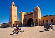 Rissani Mulay Ali Cherif Mausoleum  Meknes-Tafilalet Region  South of Morocco.