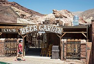 Barstow, California - Calico Ghost Town, an 1880s silver mining town in the Mojave Desert that has been restored as a tourist attraction