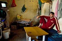 Immigrants from Morocco work and live in very basic conditions, El Ejido, Spain, 22 May 2007  El Ejido, a dry region on the coast of Andalusia, has ch...