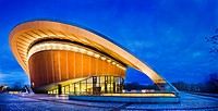 The Congress Hall is the Haus der Kulturen der Welt  Germany, Capitol Berlin, District Mitte