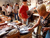 fish market in athens greece