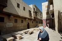 Bait El Suhaymi, El Moeiz or el moez, Khan El Khalili, Cairo, Egypt, North Africa, Africa