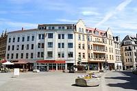 Halle Old Market