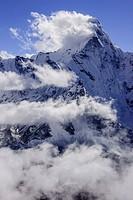 Chhukhung, Lhotse glacier, Sagarmatha National Park, Khumbu Himal, Nepal, Asia
