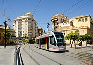 Europe, Spain, Sevilla, Underground, The first line of the Metro of Seville was inaugurated on April 2, 2009, although the opening date was put into o...