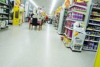 interior of Wilkinson store Newark-on-Trent, Newark, Nottinghamshire, England, UK