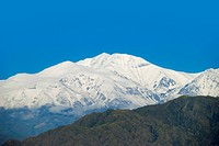 Un_Named Mountain Of The Andes West Of Mendoza, Argentina