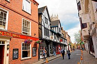 Streets of York, Yorkshire, Great Britain