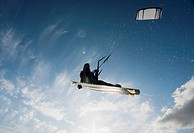 Kitesurfing, tarifa cadiz andalusia spain