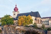 Collegiate church Nonnberg, Salzburg, Austria