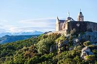 Chapel Madonna de la Serra above Calvi, Corsica, France