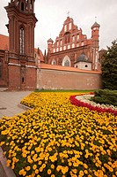 Santa Anna Church, Vilnius. Lithuania capital city, Baltic States, Europe