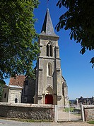 Church XIII th c ,Pierrefitte en Auge, Calvados 14, Normandy, France