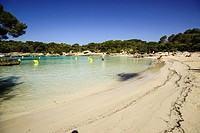 Cala Turqueta, Ciutadella, Menorca, Balearic Islands, Spain, Europe