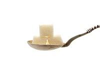 three cubes of sugar