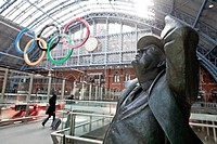England, London, King´s Cross, Saint Pancras Station