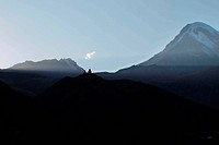 Berg Kazbek in Georgien