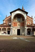 Italy, Lombardy, Abbiategrasso, Santa Maria Nuova church