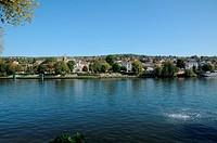France, the city of Triel sur Seine