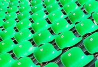 Sitzreihen grün _ Seats green