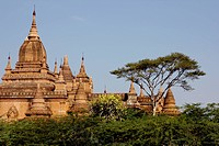 A temple in Bagan, Burma
