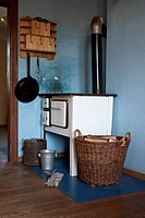 Detail of an old_fashioned kitchen