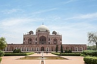 Humayun's tomb, UNESCO World Heritage Site, New Delhi, India