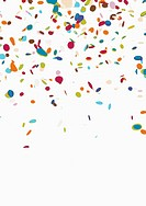 Confetti on a white background (thumbnail)
