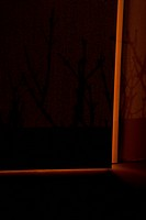 Light surrounding ajar door (thumbnail)