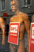 Mannequin advertising sale