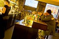 Schweiz, Zurich, Zuerich, Bar und Lounge Nachtflug