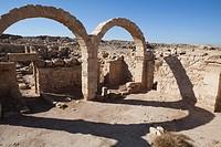 Ruins Umm ar_Rasas, Kastrom Mefa´a, Jordan