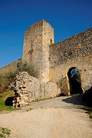 The walls of Monteriggioni