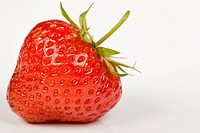 A red strawberry