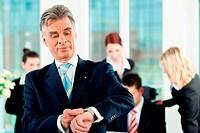 Business _ Team in einem Büro