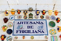 The small Spanish tourist village of Frigiliana near Nerja